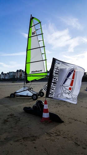 1er Grand Prix à Saint Malo Novembre 2016 - Blokart Team France