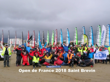 OPEN de FRANCE à Saint Brevin et 2ème Grand Prix Mars 2018 - Blokart Team France
