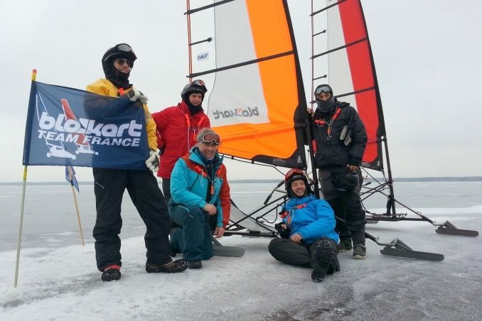 OPEN BALTIC ICE LITUANIE  Fevrier 2018 - Blokart Team France